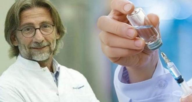 Prof. Dr. Ovalı corona virüs aşısını üzerinde deneyecek!