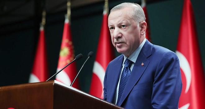 Cumhurbaşkanı Erdoğan: Türkiye'nin tamamında sokağa çıkma sınırlaması