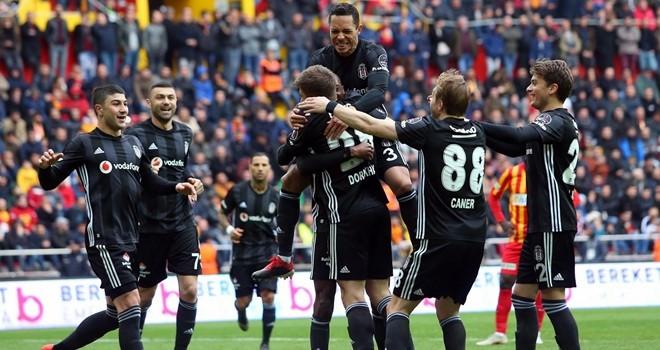 Kayserispor – Beşiktaş:2-2