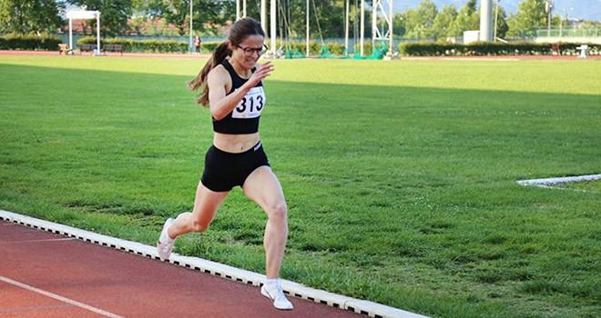 Milli Takım seçmelerinde siyah-beyazlı atlet rakiplerini geride bıraktı