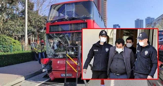 Otobüs kazasında şoförün kanında uyuşturucu madde çıktı