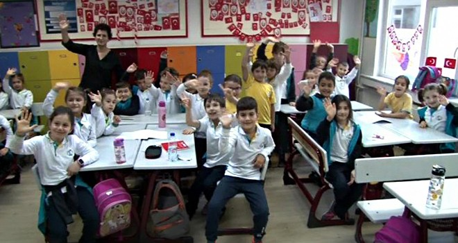 Beşiktaş'taki öğrenciler son dersini yaptı