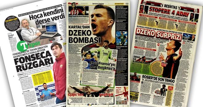 Manşetlerle Beşiktaş (1 Temmuz)