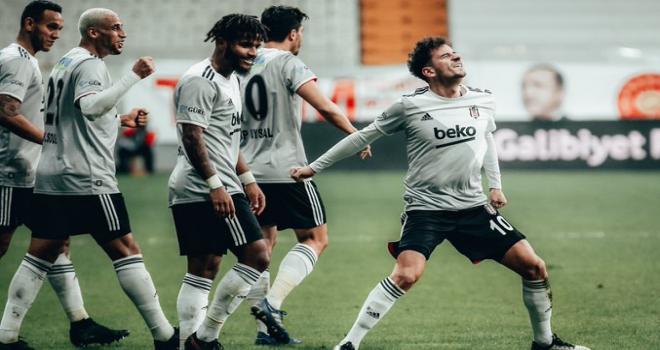 Beşiktaş'tan gol yağmuru! 6-0'lık galibiyet