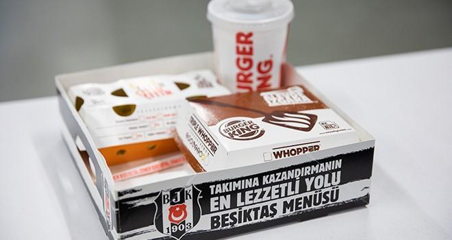 Burger King'den Beşiktaş taraftarına özel menü
