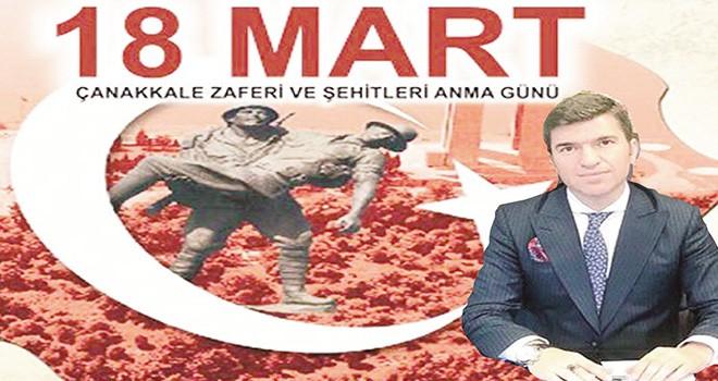 Beşiktaş Kaymakamı Önder Bakan'dan Çanakkale Zaferi mesajı