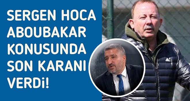 Sergen Yalçın, Ankaragücü maçında nasıl bir kadro sahaya sürecek?