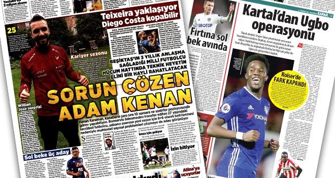 Günün Beşiktaş manşetleri (12 Temmuz)
