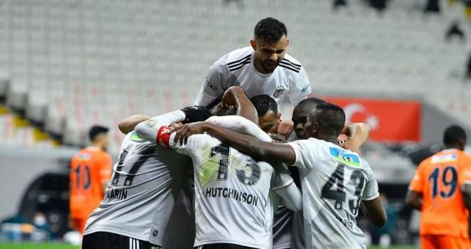 Beşiktaş: 3  -  Başakşehir: 2