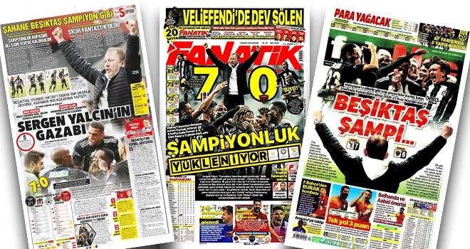 Manşetlerle Beşiktaş'ın 7-0'lık galibiyeti