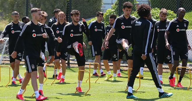 Beşiktaş'tan kondisyon ve taktik çalışması