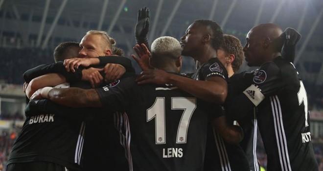 Lig'in ikinci yarısının lideri Beşiktaş