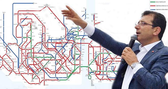 İmamoğlu'nun hedefi İstanbul'a metro ağı kurmak