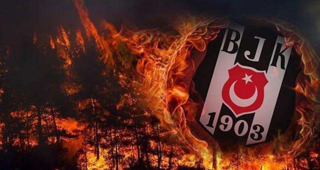 Beşiktaş JK:  İçimiz yanıyor!..