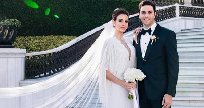 Ünlü çift Beşiktaş'ta evlendi