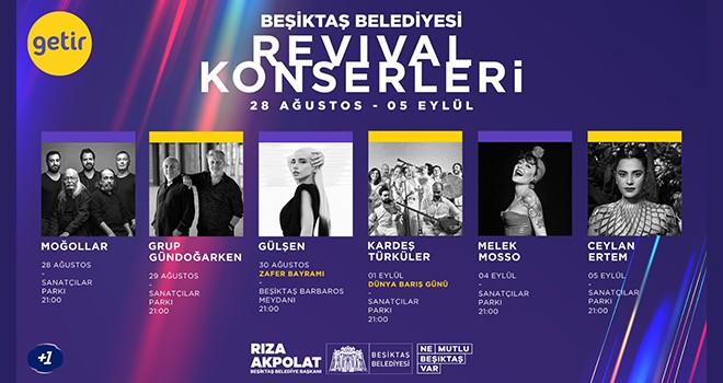 Türkiye'nin önde gelen müzisyenleri Revival Konserleri'nde!