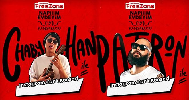 Vodafone FreeZone'un online konserlerine büyük ilgi