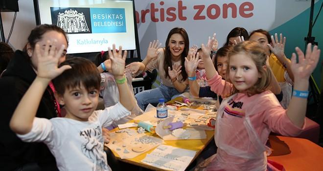 Çocuk Sanat Festivali Beşiktaş'ta gerçekleşti