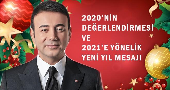 Başkan Akpolat Beşiktaşlılara seslendi! 2020 değerlendirmesi ve  2021 mesajı