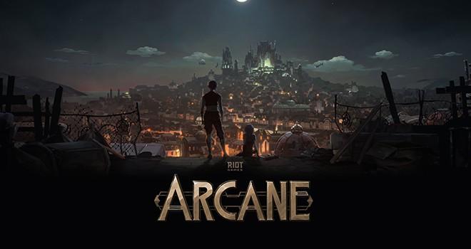 Netflix ve Riot Games'ten yeni animasyon dizisi: Arcane