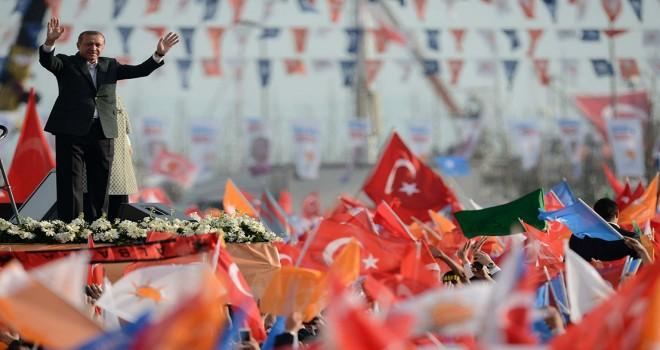 AK Parti yerel seçimler için sahaya indi