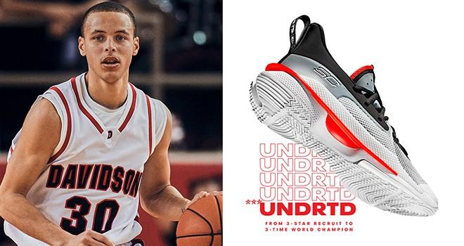 NBA yıldızı ile Under Armour'dan basketbol ayakkabısı