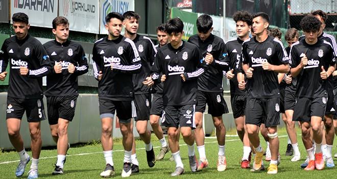 Beşiktaş U-19 takımında hazırlıklar sürüyor