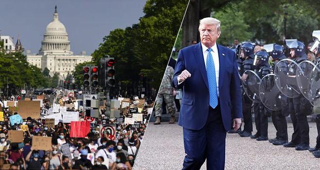 George Floyd olaylarında Trump'a tepki büyüyor