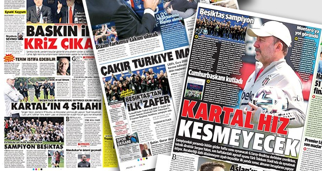 Günün Beşiktaş manşetleri! Kartaliçelerin şampiyonluğunu yazdılar