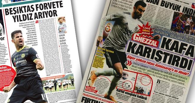 Günün Beşiktaş manşetleri (8 Temmuz)