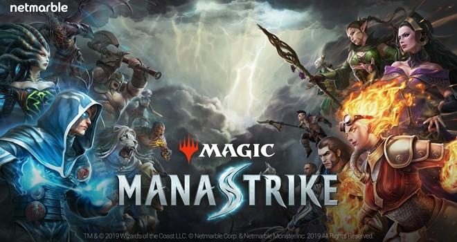 Netmarble'dan yepyeni bir oyun Magic: ManaStrike