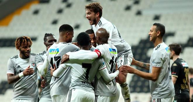 Beşiktaş 3 golle 3  puanı aldı