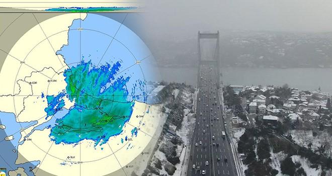 İstanbul DEK yağışları etkisi altında