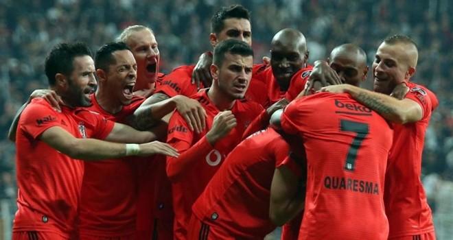 Beşiktaşlı yıldızlardan maç yorumları