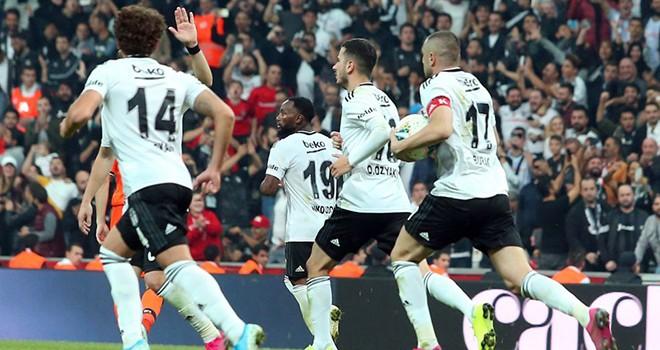 Beşiktaş - M. Başakşehir: 1-1
