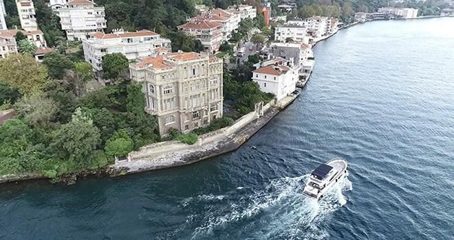 Boğaz'ın incisi yalılara gemi tehlikesine karşı özel koruma