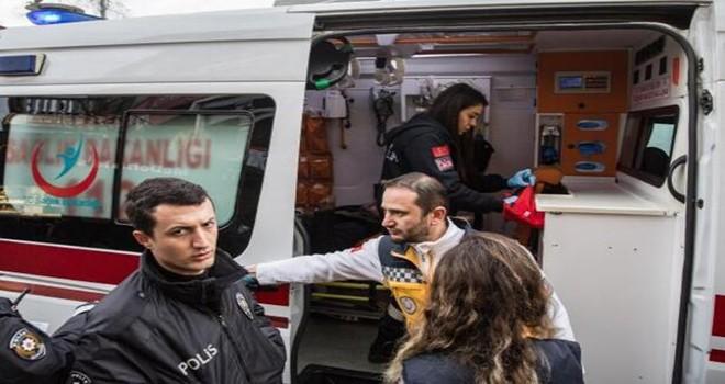 Beşiktaş'ta Zabıtalar bıçaklı kavgayı çöp süpürgesiyle ayırdı