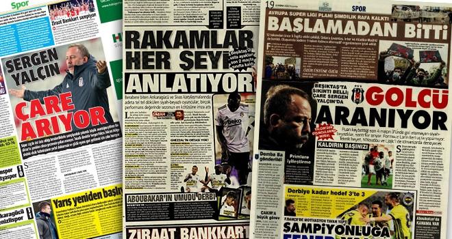 Manşetlerle Beşiktaş!