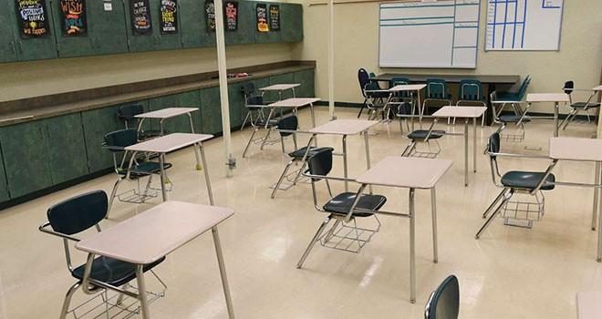 Bir öğrencide Covid-19 belirtilerinin ardından sınıf karantinaya alındı