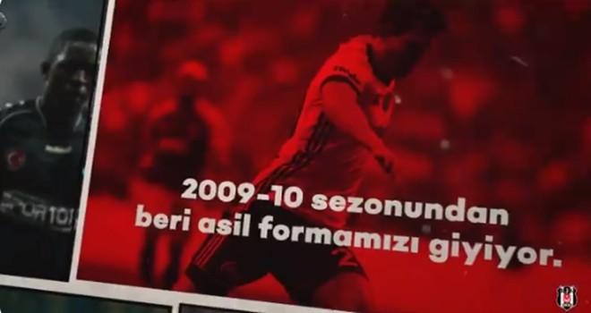 Beşiktaş'tan Necip Uysal paylaşımı