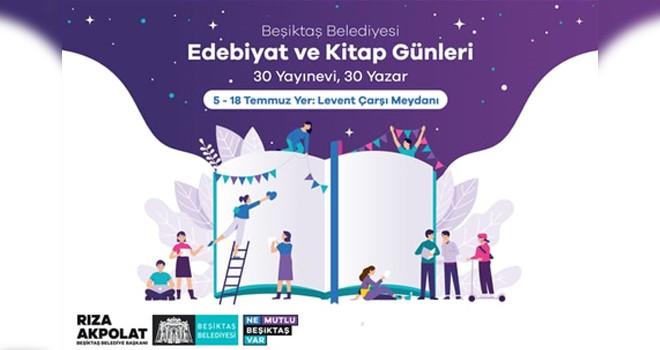 Beşiktaş'ta Edebiyat ve Kitap Günleri başladı!..