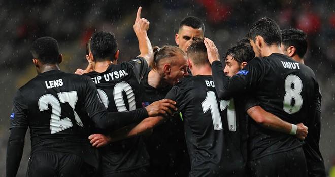 Braga - Beşiktaş maç sonucu: 3-1