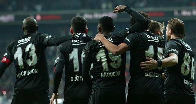Beşiktaş ligin ilk yarısını zaferle tamamladı
