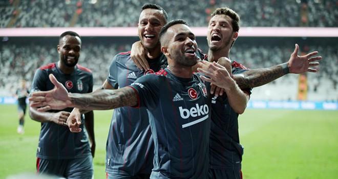 Beşiktaş 3 puanı tek golle aldı!...