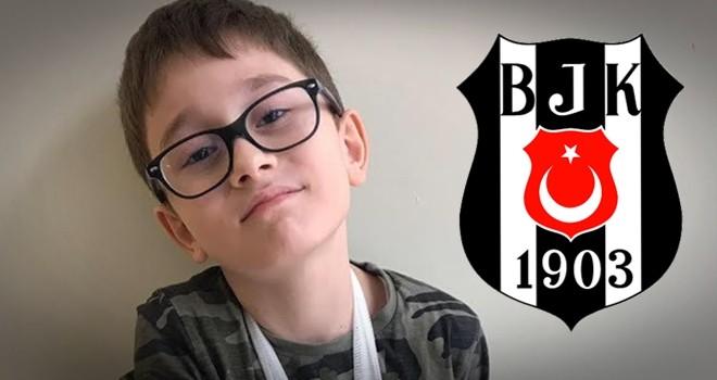 Beşiktaş'tan Yavru Kartal'a geçmiş olsun mesajı