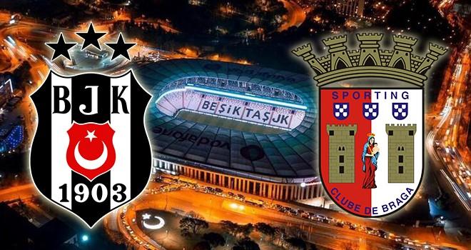 Beşiktaş - Braga karşı karşıya