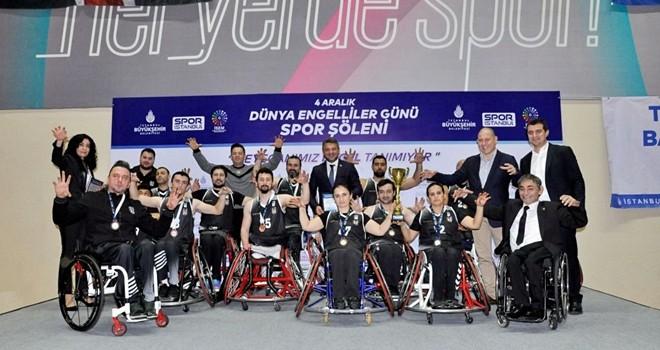 Beşiktaş Tekerlekli Sandalye Basketbol Takımı, Dünya Engelliler Günü Spor Şöleni'ndeydi