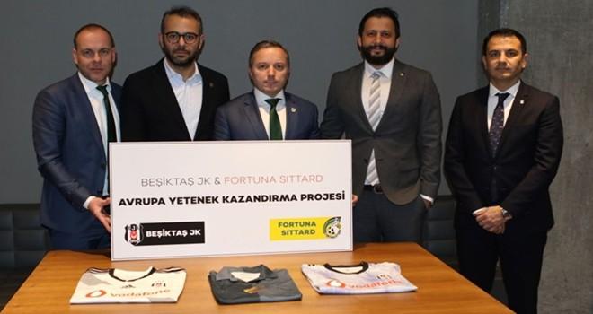 Fortuna Sittard ile Beşiktaş'tan işbirliği