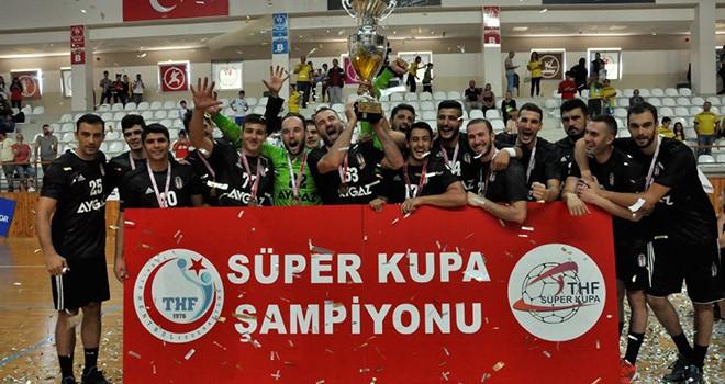 16. kez Süper Kupa'nın sahibi Beşiktaş Aygaz