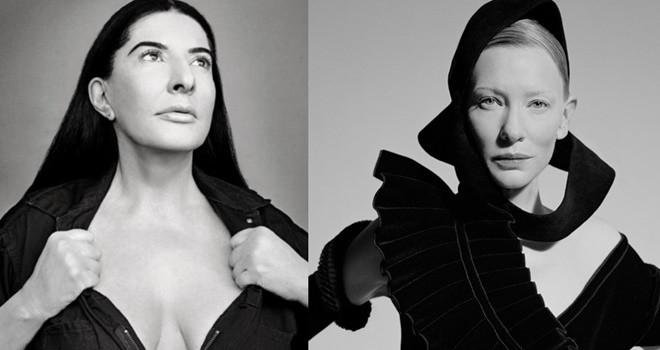 Blanchett'dan Abramovic performansı
